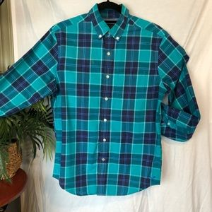 Men's plaid American Eagle outfitters button up